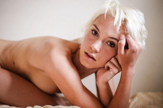 【外人】ボーイッシュなモデルのケルシー(Kelsey)を写真家ダニー·レーン(Danny Lane)が撮影したフルヌードポルノ画像 1340