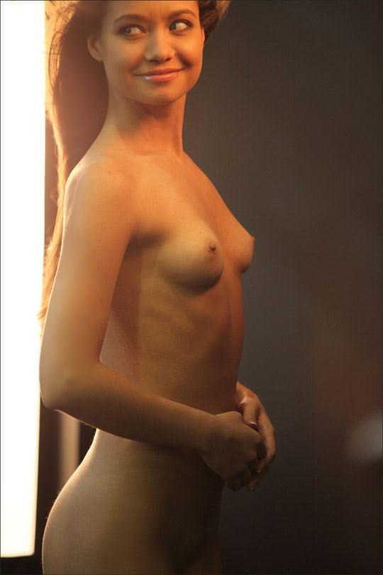 【外人】そこら中でおっぱいを晒す世界のスーパーモデルたちのポルノ画像 1641