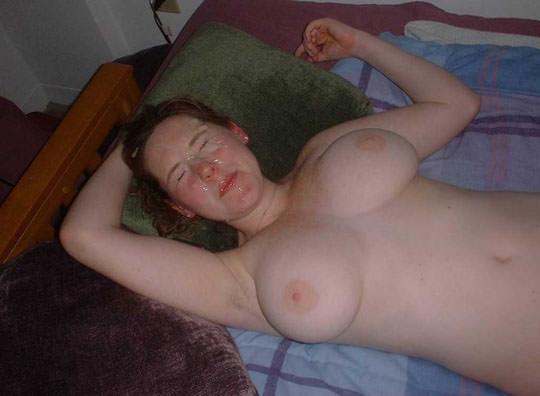 【外人】洋ティーンの素人娘の顔面にザーメンぶっかけた顔射ポルノ画像 182