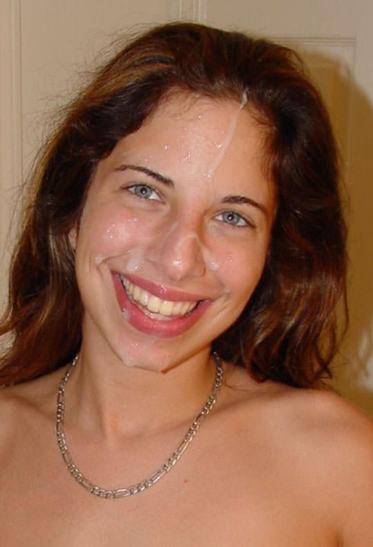 【外人】洋ティーンの素人娘の顔面にザーメンぶっかけた顔射ポルノ画像 281