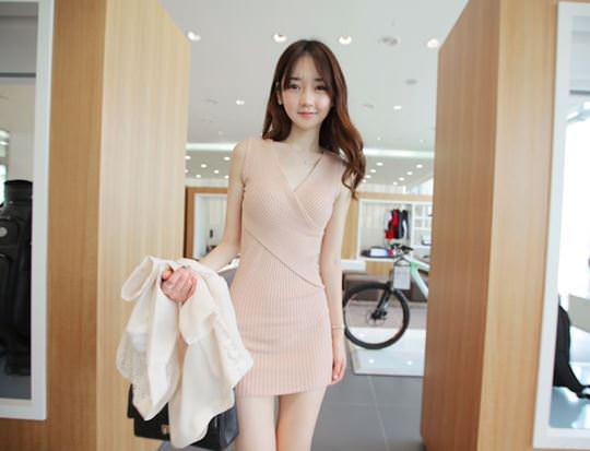 【外人】整形大国の韓国ならではの全身整形美少女の水着グラビアポルノ画像 387