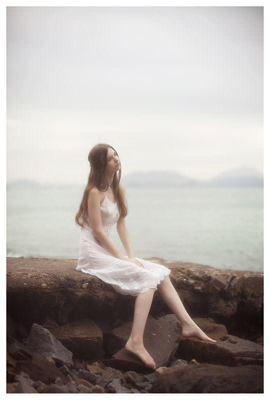【外人】処女の様な北欧の天使オルガ(Olga B)の下着セミヌードポルノ画像 4118