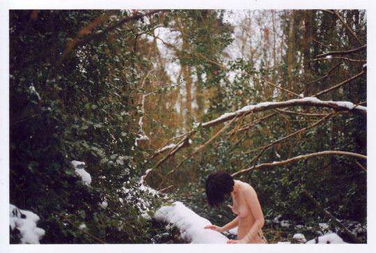 【外人】大自然でヌードグラビア撮影する妖精な白人美女達の野外露出ポルノ画像 4611