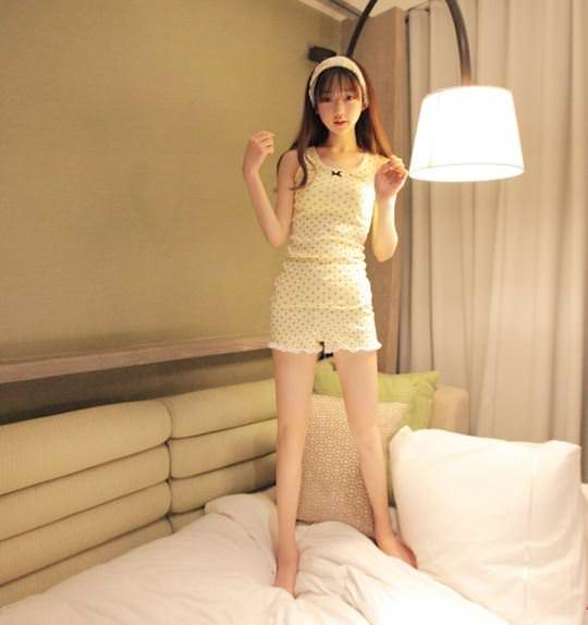 【外人】整形大国の韓国ならではの全身整形美少女の水着グラビアポルノ画像 558