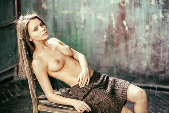 【外人】超美人な無名ファッションモデルが裸になって自分を売り込むヌードポルノ画像 587