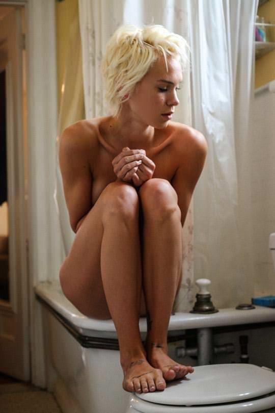 【外人】ボーイッシュなモデルのケルシー(Kelsey)を写真家ダニー·レーン(Danny Lane)が撮影したフルヌードポルノ画像 754