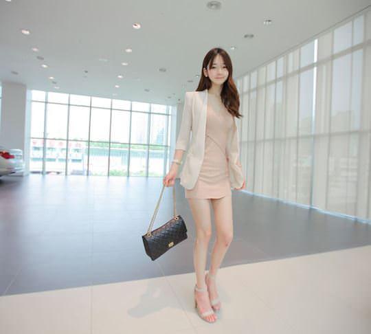【外人】整形大国の韓国ならではの全身整形美少女の水着グラビアポルノ画像 945