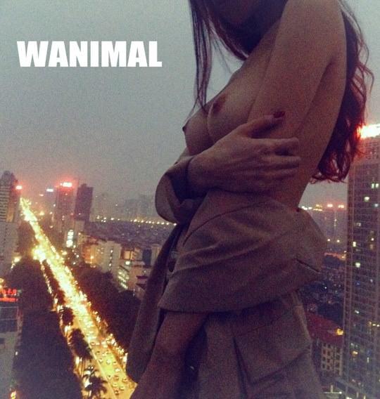 【外人】中国人写真家ワニマル(WANIMAL)の中国人美女のヌードをアートにしたポルノ画像 1168