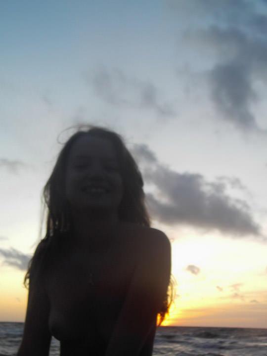 【外人】ヌードモデルを目指す激カワ素人娘が裸体撮影とフェラまでしてるポルノ画像 1314