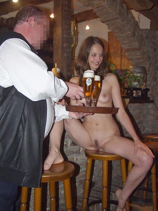【外人】素人の激カワヌードモデルが街中至る所で裸になる野外露出ポルノ画像その4 145