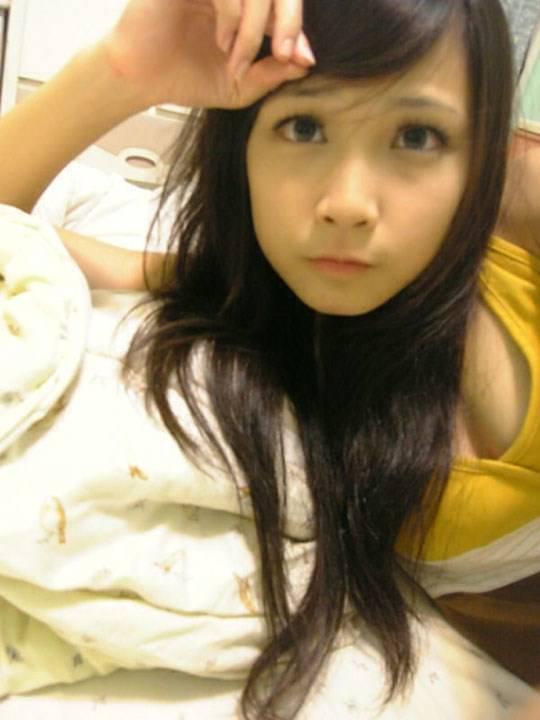 【外人】激カワ台湾素人娘のツォン・ダーミエ(Ceng Damie)の自撮りポルノ画像 1826