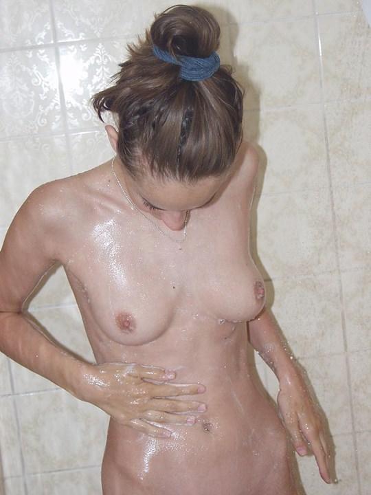 【外人】素人の激カワヌードモデルが街中至る所で裸になる野外露出ポルノ画像その4 184