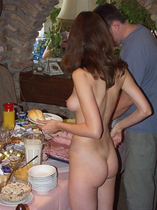 【外人】素人の激カワヌードモデルが街中至る所で裸になる野外露出ポルノ画像その2 193
