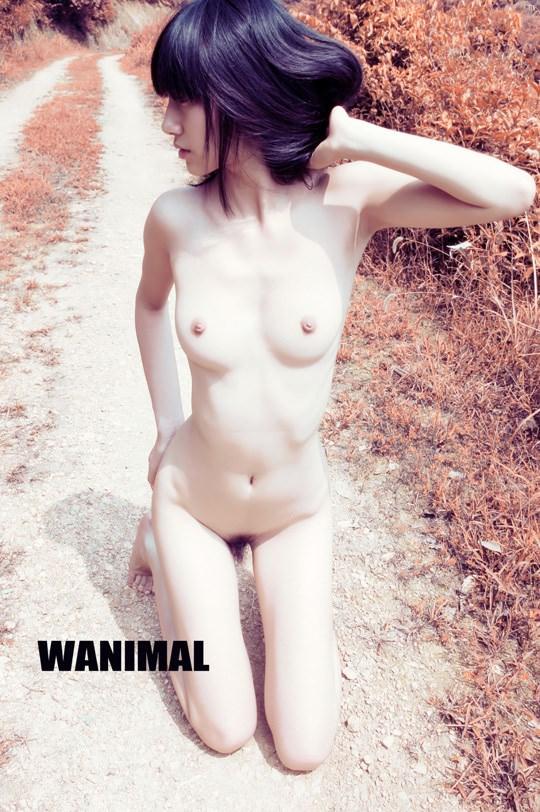 【外人】中国人写真家ワニマル(WANIMAL)の中国人美女のヌードをアートにしたポルノ画像 3108