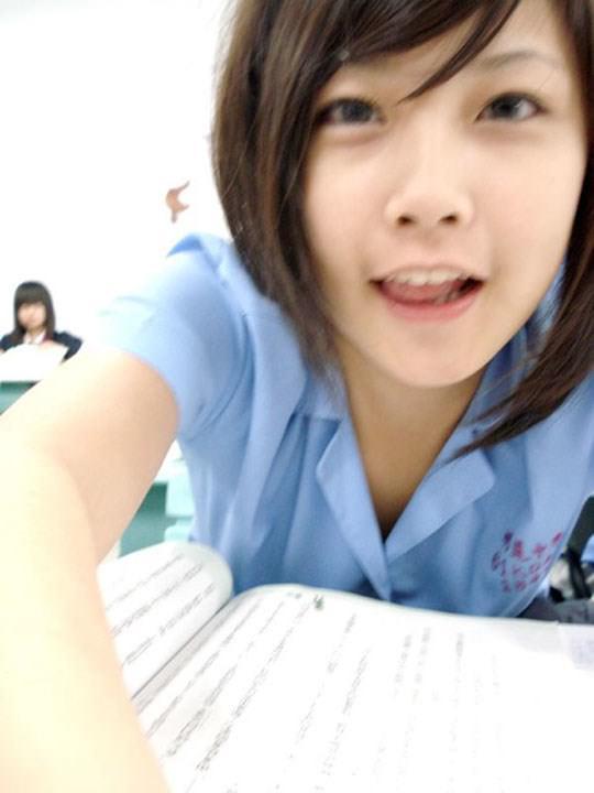【外人】激カワ台湾素人娘のツォン・ダーミエ(Ceng Damie)の自撮りポルノ画像 3219