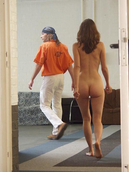 【外人】素人の激カワヌードモデルが街中至る所で裸になる野外露出ポルノ画像その3 322
