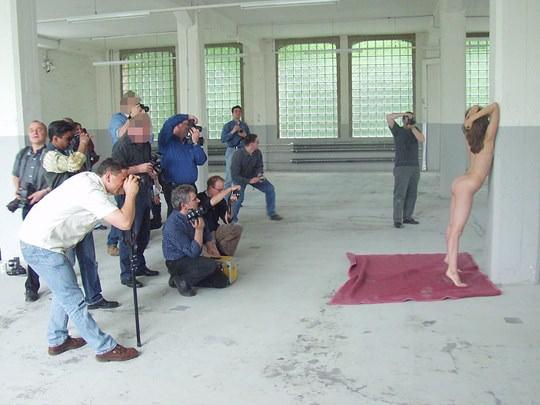 【外人】素人の激カワヌードモデルが街中至る所で裸になる野外露出ポルノ画像その3 66