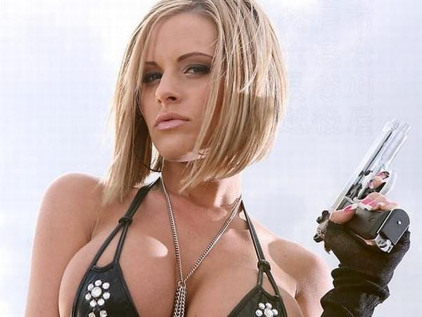 【外人】ダイナマイトバディのアメリカ人コスプレイヤーがめちゃシコなエロ過ぎるポルノ画像 014