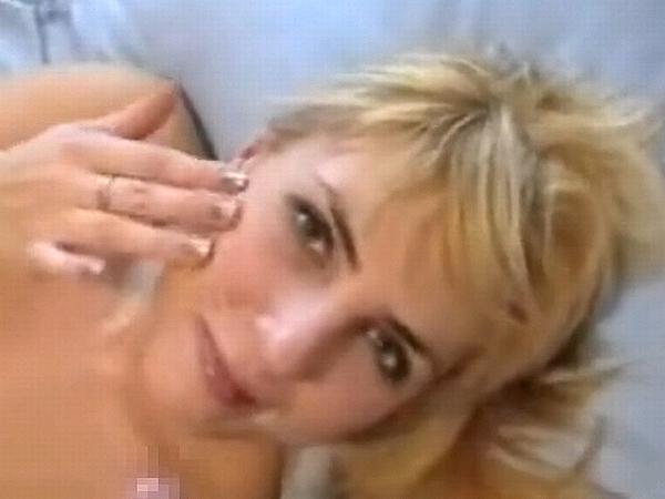 【北欧無修正】ブロンドロシア素人カップルのイチャラブ顔射セックス動画 0145