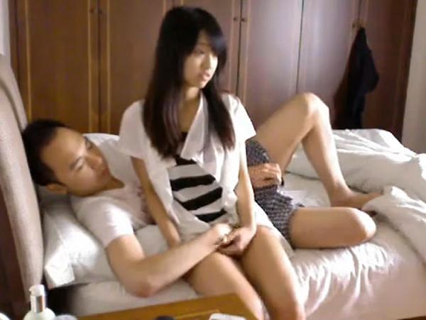 【即抜き無修正】アジア台湾素人カップルの定点カメラ即効セックス動画 0163