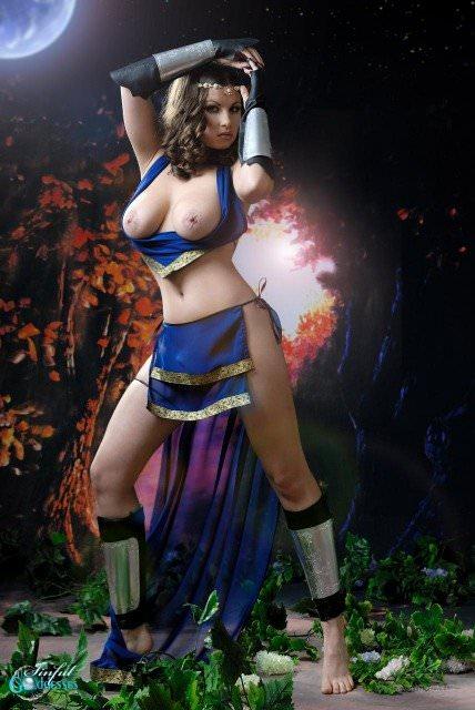 【外人】ドイツ人の女の子がするコスプレが可愛い過ぎてめちゃシコなポルノ画像 1511