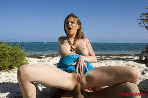 ヌーディストビーチでパッコンパッコンエッチしまくってる海外美人のセックスポルノ画像 1943