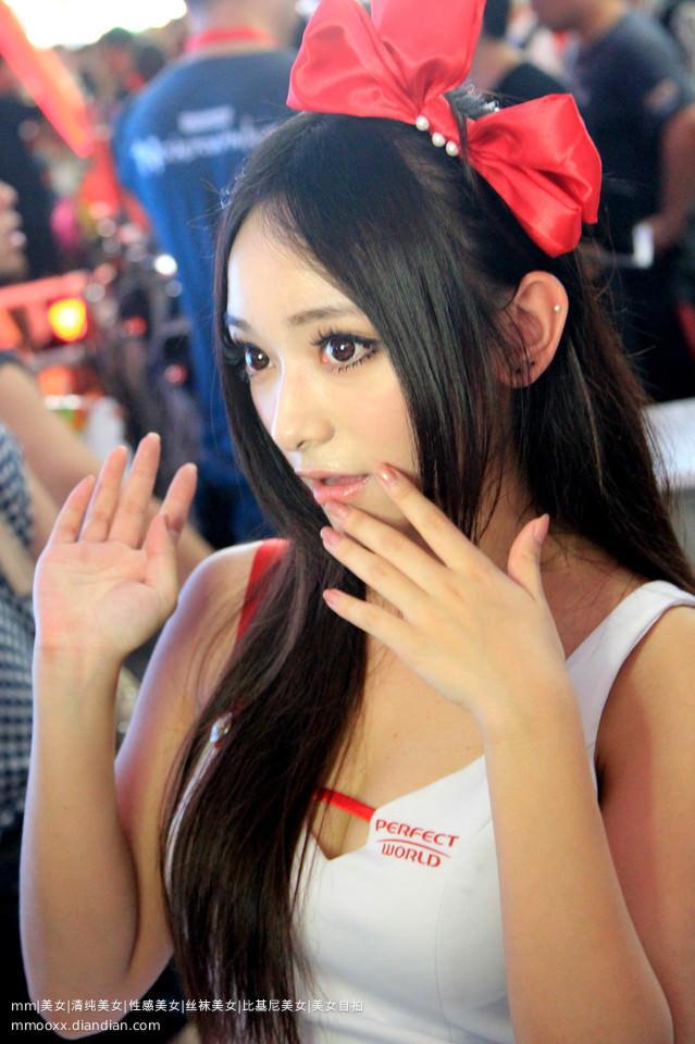 【外人】バッチリ整形顔の韓国人キャンペーンガールのポルノ画像 426