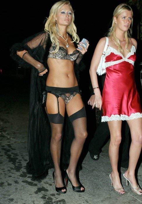 【外人】超セレブなお騒がせお嬢様パリス・ヒルトン(Paris Hilton)のパパラッチ盗撮ポルノ画像 79