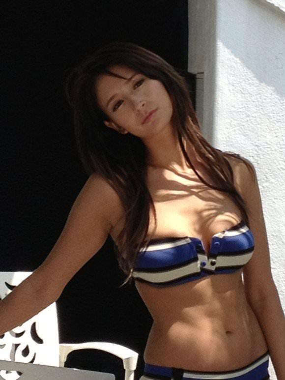やっぱり可愛すぎる美乳ハーフモデルのリアディゾンのポルノ画像 863