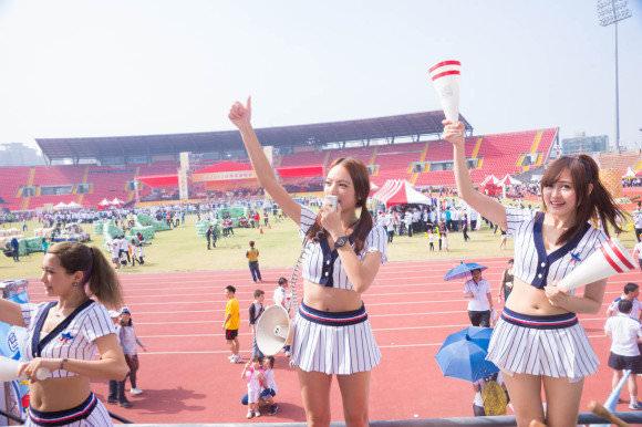 台湾野球のチアガールたちが可愛すぎて鼻血でそうなポルノ画像 1136
