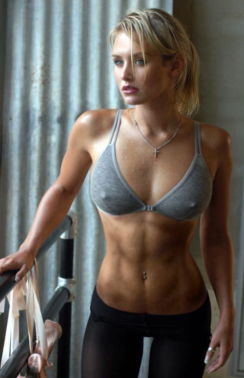 ガチムチ系美人の腹筋がエロい外人ポルノ画像 1182