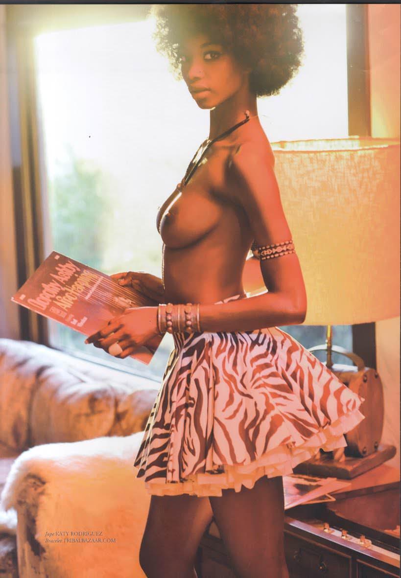 綺麗な黒人のお姉さんの自撮りやヌードを集めたポルノ画像 139