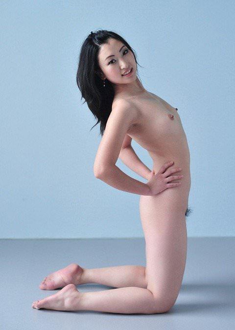 中国人美女はスタイル良くて可愛い子が多いヌードポルノ画像 14