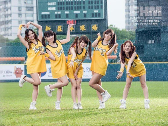 台湾野球のチアガールたちが可愛すぎて鼻血でそうなポルノ画像 2324