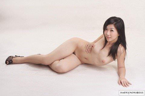 中国人美女はスタイル良くて可愛い子が多いヌードポルノ画像 25