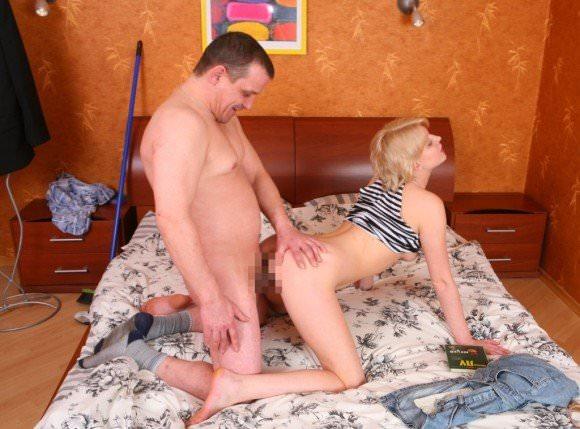 白人の美人さんを爺さんがハメまくってるセックスポルノ画像 415