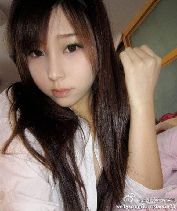 噂の美少女台湾娘がガチで可愛い胸チラポルノ画像 546