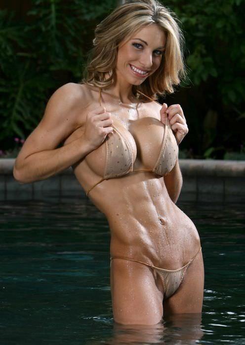 ガチムチ系美人の腹筋がエロい外人ポルノ画像 553