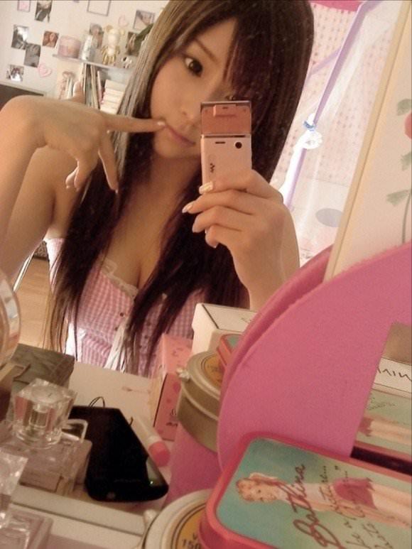 噂の美少女台湾娘がガチで可愛い胸チラポルノ画像 847