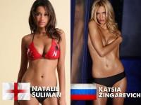 海外サッカー選手たちの奥さんが激美人過ぎてエロ過ぎるポルノ画像