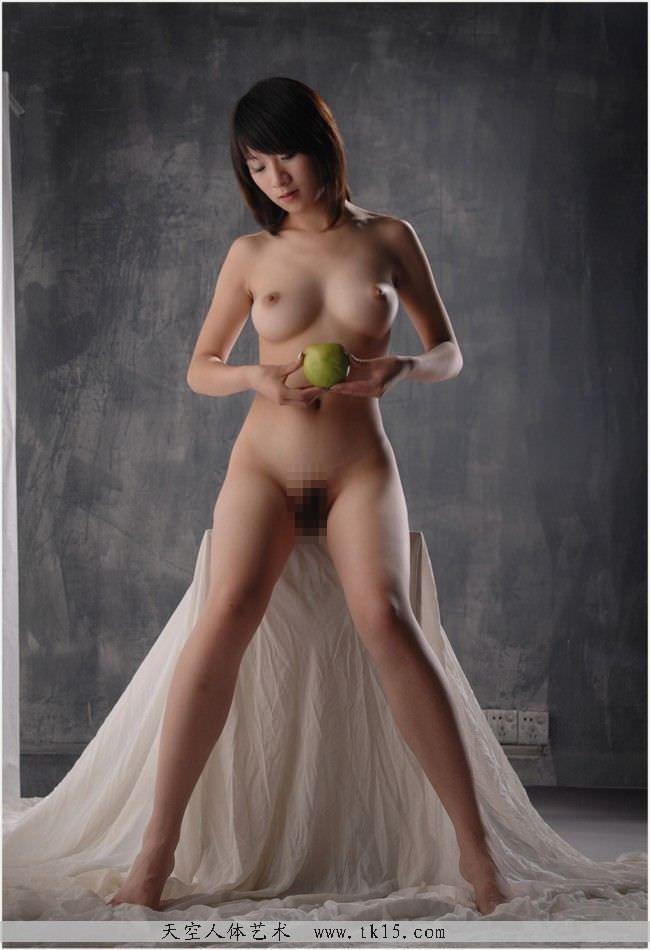 中国美人のスラっとしたスタイル抜群のヌードポルノ画像 1315