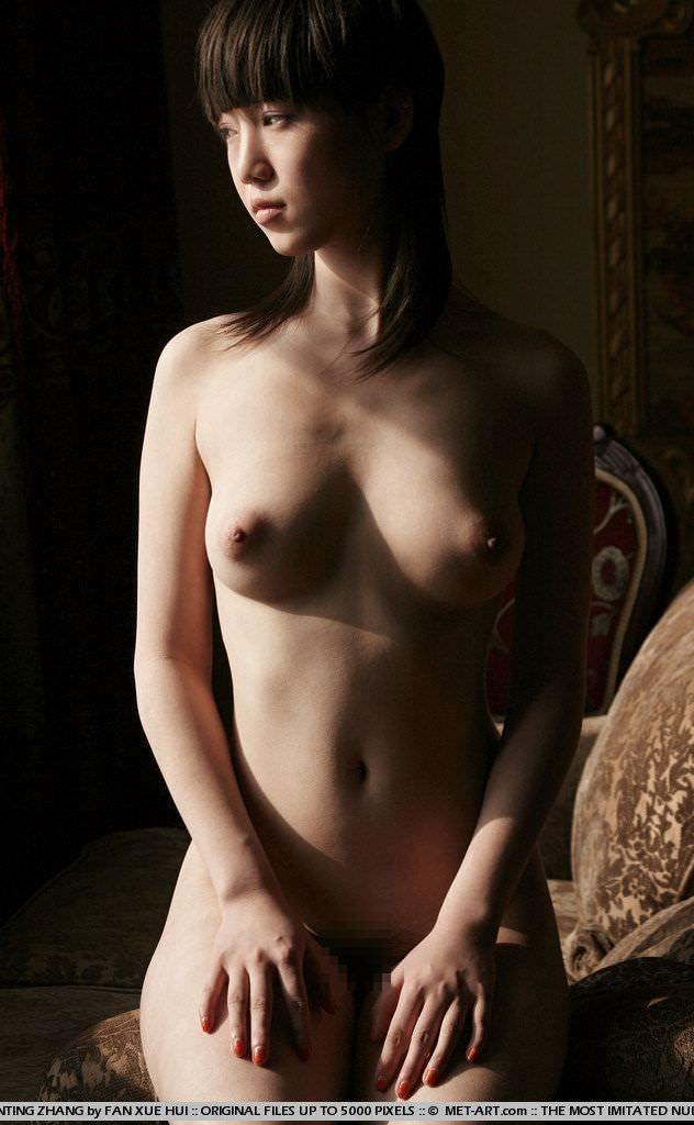 中国美人のスラっとしたスタイル抜群のヌードポルノ画像 1515