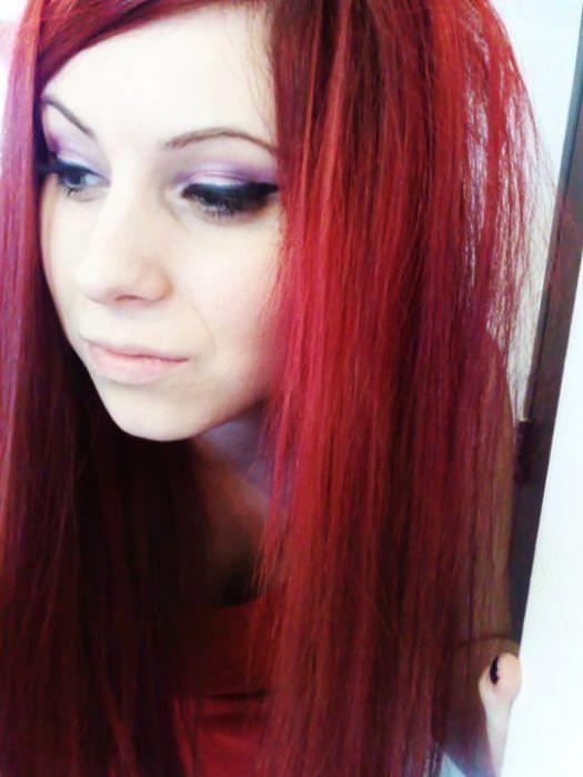 綺麗な赤毛色したセクシーな海外美人wwwwwww 1619