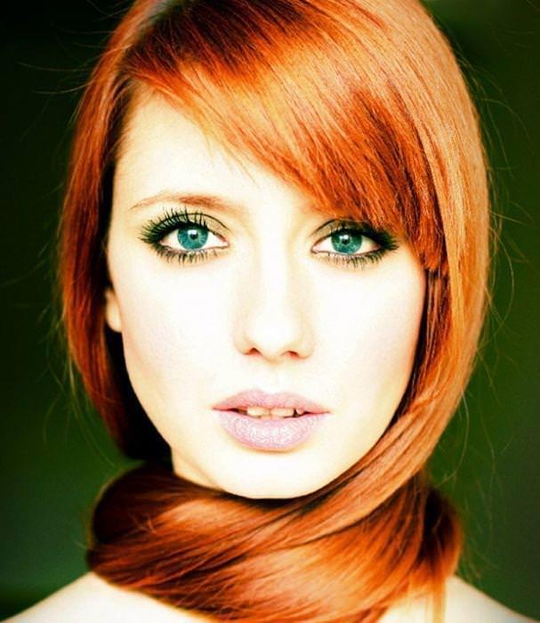 綺麗な赤毛色したセクシーな海外美人wwwwwww 1631