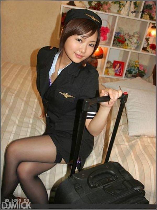 パイロットやCAのコスプレした海外美人のポルノ画像 2531