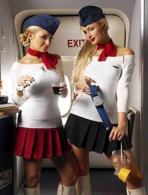 パイロットやCAのコスプレした海外美人のポルノ画像 2539