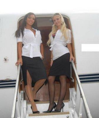パイロットやCAのコスプレした海外美人のポルノ画像 2548