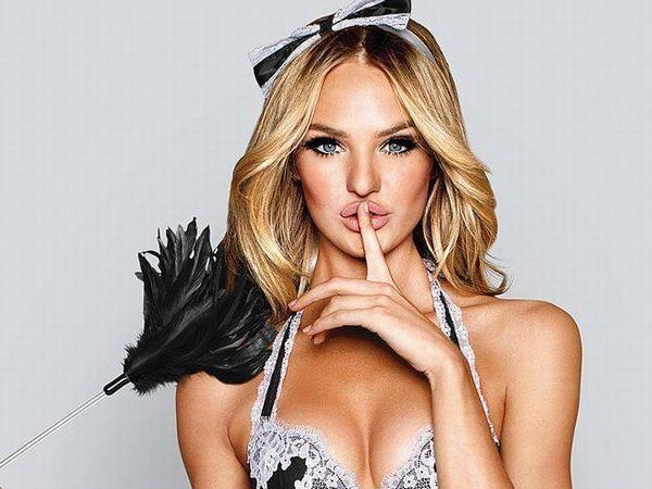 下着モデルのキャンディス・スワンポールのコスプレがセクシーダイナマイト過ぎてワロタwwwwwww thumb 2