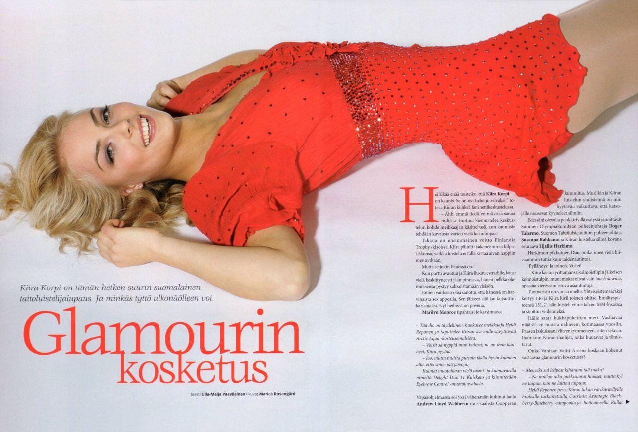 フィンランドのフィギュアスケート選手キーラ・リンダ・カトリーナ・コルピが美人すぎて抜けるwwwww 0408