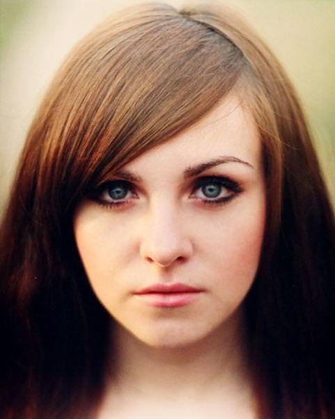 眼の色が宝石のように綺麗な色をしてる外人美人wwww 3006